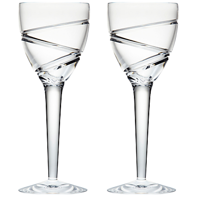 Waterford Jasper Conran Aura Goblets, Set of 2, Clear