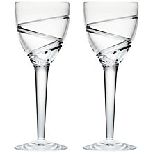 Buy Waterford Jasper Conran Aura Goblets, Set of 2, Clear Online at johnlewis.com