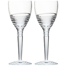 Buy Waterford Jasper Conran Strata Crystal Goblets, Set of 2 Online at johnlewis.com