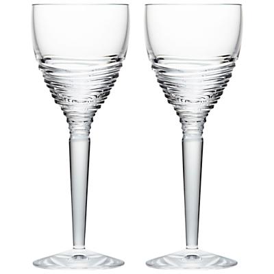 Waterford Jasper Conran Strata Crystal Wine Glasses, Set of 2