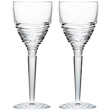 Buy Waterford Jasper Conran Strata Crystal Wine Glasses, Set of 2 Online at johnlewis.com