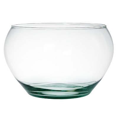 John Lewis Recycled Glass Salad Bowl