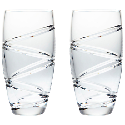Waterford Jasper Conran Aura Long Crystal Glasses, Set of 2