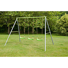 Buy TP522 Triple Metal Swing Set Online at johnlewis.com