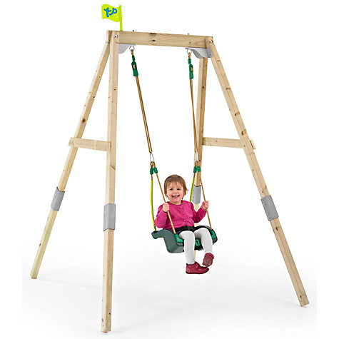 Buy tp toys tp302p3 new forest acorn swing frame set with for Swing set frame only