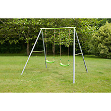 Buy TP Toys TP522 Double Metal Swing Set Online at johnlewis.com