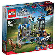 Buy LEGO Jurassic World Raptor Escape Online at johnlewis.com