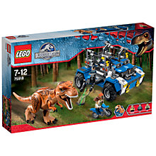Buy LEGO Jurassic World T-Rex Tracker Online at johnlewis.com