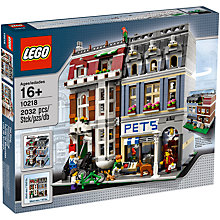 Buy LEGO Creator Pet Shop Online at johnlewis.com