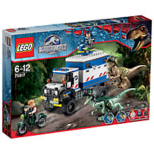 Buy LEGO Jurassic World Raptor Rampage Online at johnlewis.com