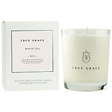 Buy True Grace White Tea Scented Classic Candle Online at johnlewis.com