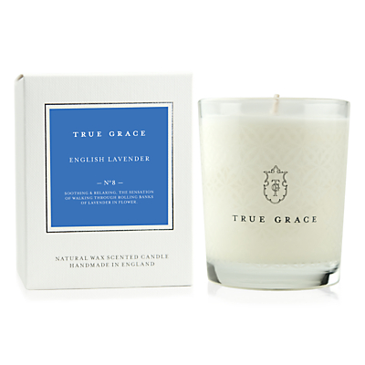 True Grace English Lavender Scented Classic Candle