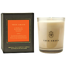 Buy True Grace A Bowl of Mandarins Scented Classic Candle Online at johnlewis.com