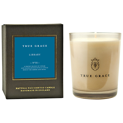 True Grace Library Scented Classic Candle