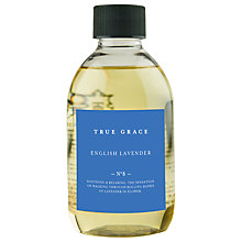 Buy True Grace English Lavender Diffuser Refill, 250ml Online at johnlewis.com