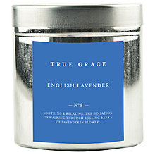 Buy True Grace English Lavender Scented Tin Candle Online at johnlewis.com
