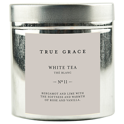 True Grace White Tea Scented Candle Tin