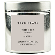 Buy True Grace White Tea Scented Candle Tin Online at johnlewis.com