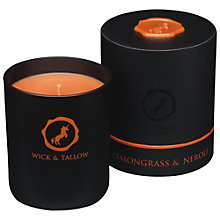 Buy Wick & Tallow Lemongrass & Neroli Scented Candle Online at johnlewis.com
