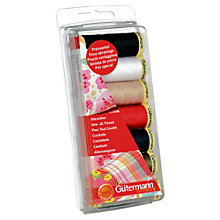 Buy Gutemann 100m Sew-All Thread, Pack of 7, Assorted Online at johnlewis.com