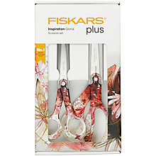 Buy Fiskars Gloria Scissor Set, 21cm + 17cm Online at johnlewis.com