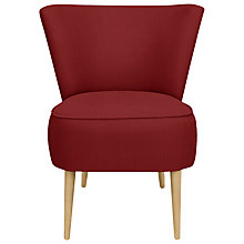 Buy John Lewis The Basics Twiggy Chair, Bowden Cranberry Online at johnlewis.com