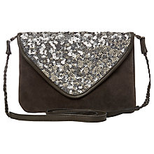 Buy White Stuff Fable Sequin Bag, Night Fall Online at johnlewis.com