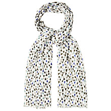 Buy White Stuff Hand Drawn Heart Scarf, Multi Online at johnlewis.com