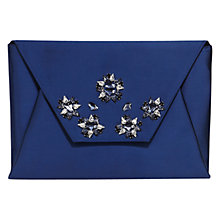 Buy Coast Montana Clutch Bag, Navy Online at johnlewis.com
