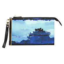 Buy Coast Aluna Print Wrist Clutch Bag, Multi Online at johnlewis.com