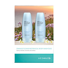 Buy Liz Earle Orange Flower Botanical Body Wash Duo Online at johnlewis.com