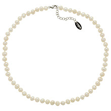 Buy Finesse Freshwater Faux Pearl Necklace Online at johnlewis.com