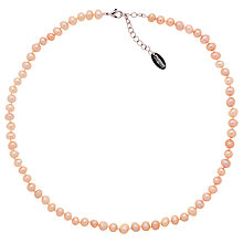 Buy Finesse Freshwater Pearl Necklace Online at johnlewis.com