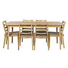 Buy John Lewis Ana Table and Set of 6 Dining Chairs Online at johnlewis.com