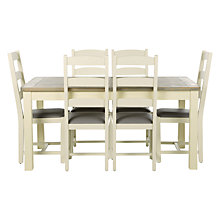 Buy John Lewis Country Extending Table and Set of 6 Dining Chairs Online at johnlewis.com