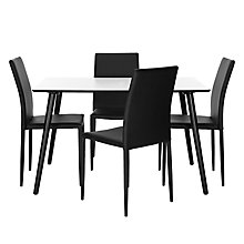 Buy John Lewis Clone Table and Set of 4 Piana Dining Chairs Online at johnlewis.com