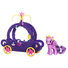 Buy My Little Pony Princess Twilight Sparkle Carriage Online at johnlewis.com
