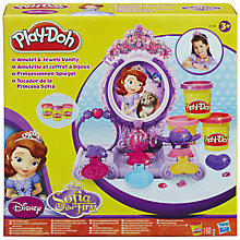 Buy Play-Doh Disney Sophia The First Amulet & Jewels Vanity Set Online at johnlewis.com