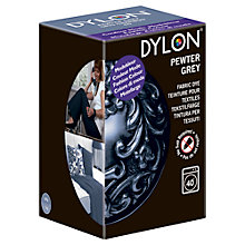 Buy Dylon Machine Dye With Salt, Pewter Grey Online at johnlewis.com