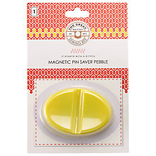 Buy The Great British Sewing Bee Magnetic Pin Saver, Yellow Online at johnlewis.com