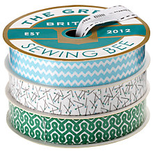 Buy The Great British Sewing Bee Trio Ribbon Reel Online at johnlewis.com