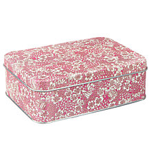 Buy John Lewis Carriages & Tandems Tin, Pink Online at johnlewis.com