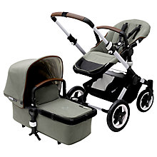 Buy Bugaboo Buffalo Escape Pushchair and Carrycot, Balsam Green Online at johnlewis.com