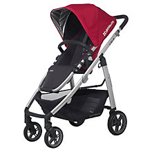 Buy Uppababy Cruz 2015 Pushchair, Denny Red Online at johnlewis.com
