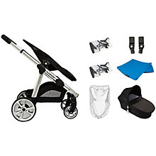 Buy iCandy Apple 2 Pushchair & Carrycot Package, Bluebell Online at johnlewis.com