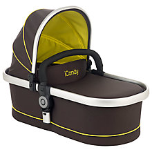 Buy iCandy Peach All Terrain Carrycot, Toucan Online at johnlewis.com