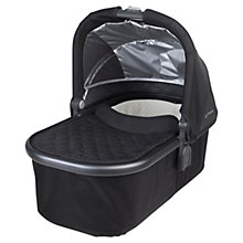 Buy Uppababy Universal Carrycot, Jake Black Online at johnlewis.com
