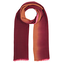 Buy Jigsaw Dip Dye Wool Blend Pashmina Online at johnlewis.com