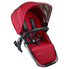 Buy Uppababy Rumble Vista Second Seat, Denny Red Online at johnlewis.com