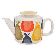 Buy Orla Kiely Pear Teapot, 1L Online at johnlewis.com